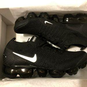 Buy 100% AUTNENTIC Nike Air Vapormax Flyknit 2018 Women Running Athletic shoes BLACK