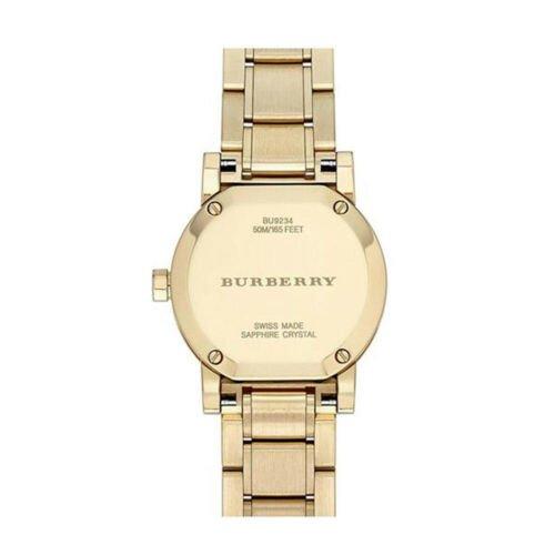 Buy 100% New Burberry BU9234 The City Swiss Gold Ion-plated Bracelet Women's Watch