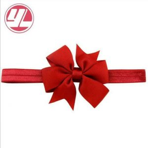 Buy 100 PCS New RED BOW Kid Girl Baby Headband Lace Flower Hair Accessories Headwear