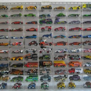Buy 108 Hot Wheels 1:64 Scale Diecast Display Case, UV Protection Acrylic, AHW64-108