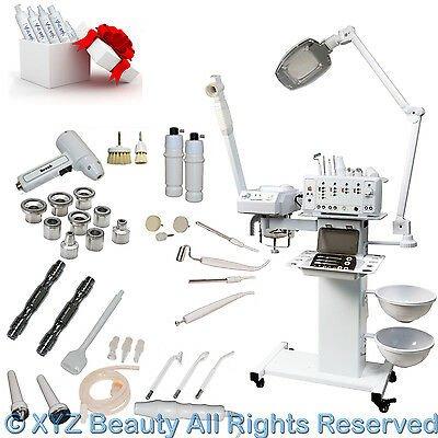 Buy 11 in 1 Facial Machine Microdermabrasion Steamer Skin Care Spa Salon Equipment