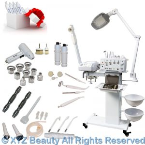 Buy 11 in 1 Facial Machine Microdermabrasion Steamer Skin Care Spa Salon Equipment