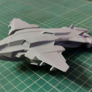 Buy 12 inch Pelican Dropship Plane Space Ship - 3D Printed Fan Art Model