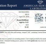 Buy 1/3 cttw Certified I1-I2 14K Champagne Diamond Stud Earrings White Gold
