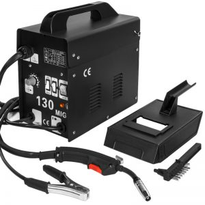 Buy 130 MIG Welder Flux Core Wire Automatic Feed Welding Machine with Free Mask Kit