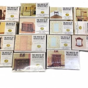Buy 14 NEW X-acto Collectors THE HOUSE OF MINIATURES Dollhouse Furniture-6 Sealed