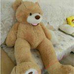 Buy 160cm Teddy Bear Plush Toys Super Huge Giant Life Size Stuffed Animals Doll Gift