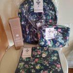 Buy $173 Pottery barn SET Floral Large BACKPACK+Water Bottle +Lunch bag + Organizer