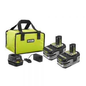Buy 18-Volt ONE+ LITHIUM+ HP 3.0 Ah Battery (2-Pack) Starter, Charger, Bag - RYOBI