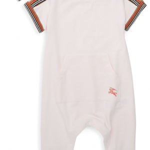 Buy $180 Burberry Baby Girl's Abia Romper and Hat Set Pink 9M NIB