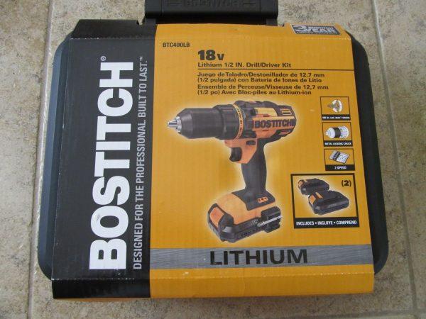 "Buy 18V Bostich Cordless 1/2"" Power Drill"