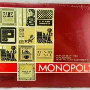 Buy 1964 Monopoly Red Box Edition Sealed Brand NEW FREE SHIPPING