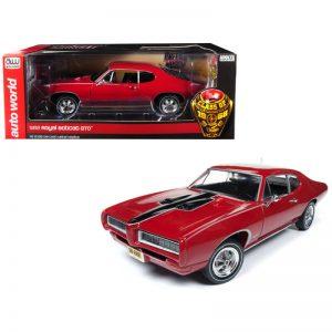 Buy 1968 Pontiac Royal Bobcat GTO Class of '68 50th Anniversary Code R Solar Red Lim
