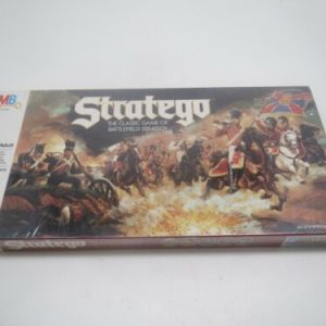 Buy 1986 Vintage Stratego Board Game Never Played Sealed Pieces Milton Bradley