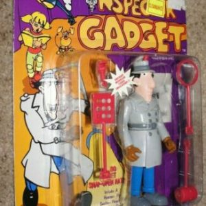 Buy 1992 DIC Tiger Toys~INSPECTOR GADGET GO GO SNAP ON HAT~Action Figure~MOC~RARE