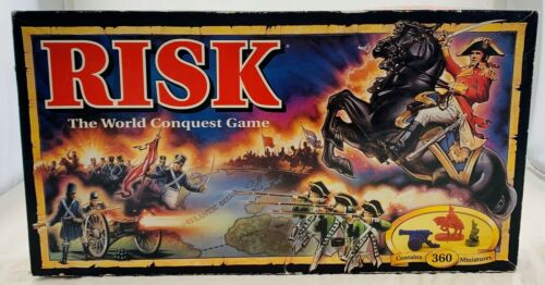 Buy 1992 Risk Board Game by Parker Brothers Brand NEW FREE SHIPPING