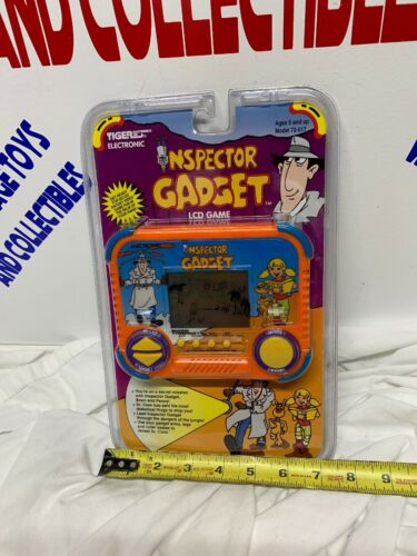 Buy 1992 Tiger Electronics Inspector Gadget Game Handheld LCD Video Game New Sealed