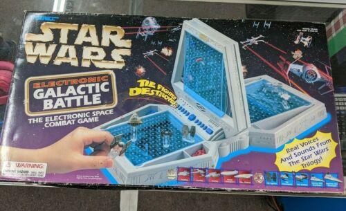 Buy 1997 Star Wars Tiger Electronic Galactic Battle Space Combat Game Battleship New