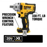 Buy 20-Volt MAX XR Lithium-Ion Brushless Cordless 1/2 in. Impact Wrench with Detent