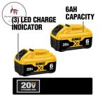 Buy 20-Volt Max Xr Lithium-Ion Premium Battery Pack 6.0Ah (2-Pack)