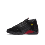 Buy 2018 Nike Air Jordan 14 XIV Retro BG OG SZ 6Y Black Red 487524-003