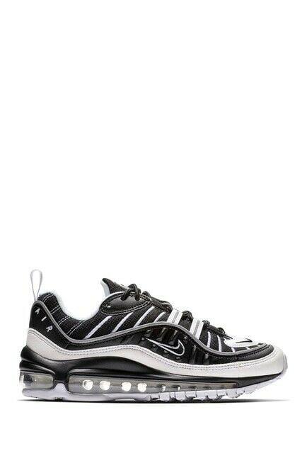 Buy 2018 Nike Air Max 98 GS SZ 4Y Black White BV4872-001
