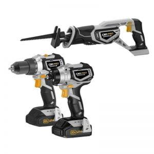 Buy 20V Drill,Impact Driver,Reciprocating Saw Combo Kit Pro Power Drill Impact Tools