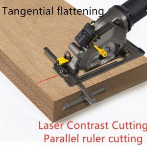 Buy 220V Household Multi-function Handheld Beveled Circular Saw Laser Cutting Tool