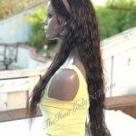"Buy 24"" MALAYSIAN Light Wavy FULL LACE WIG, 100% Human Hair"