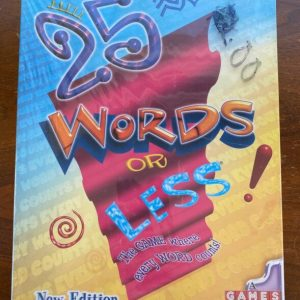 Buy ~ 25 Words Or Less Board Game New/Other Complete In Shrinkwrap Please See Photos