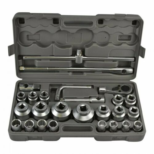 Buy 26PCS Large Big 3/4 Inch Heavy Duty Truck Size Socket Wrench Tool Set 21MM-65MM