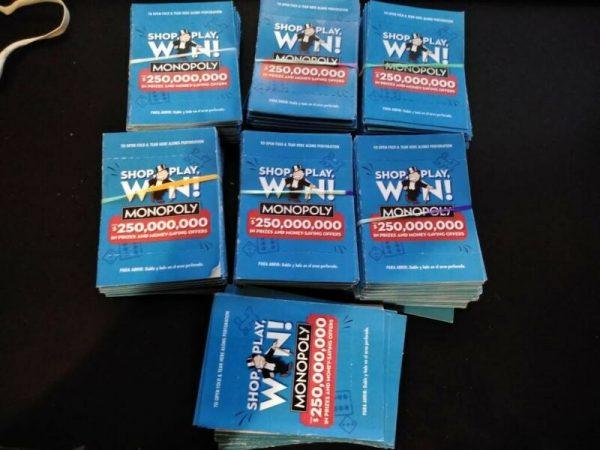 Buy 330 unopened albertsons safeway monopoly 2020