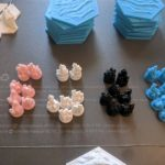 Buy 3D Printed Settlers of Catan Board Game, FULL SET, UNPAINTED
