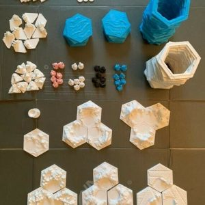 Buy 3D Printed Settlers of Catan Board Game, FULL SET, UNPAINTED