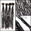 Buy 4 Bundles of Micro Dreadlock Extensions | Color 4 | Synthetic Hair | 18+ Inches