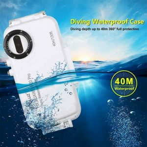 Buy 40m Waterproof Diving Housing Shell Phone Protective Case For Huawei P20 Pro/P20