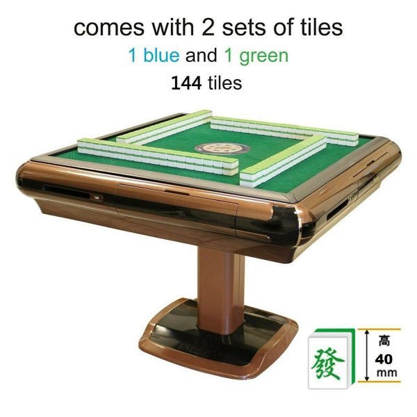 Buy 44mm Tiles 电动麻将桌 四口机 Unfolding Automatic Mahjong Table 44mm Tiles 大尺寸手感牌