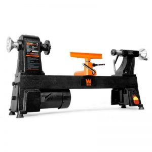 Buy 4.5 Amp 12 in. x 18 in. 5-Speed Benchtop Wood Lathe