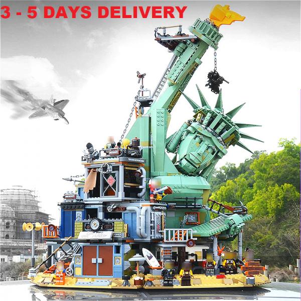 Buy 45014 Welcome to APOCALYPSEBURG 3560 pcs Creator Movie Building Blocks bricks US
