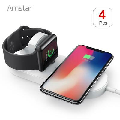 Buy 4pcs/lot Amstar Qi Wireless Charger for Apple Watch 4/3/2/1 Wireless Charging fo