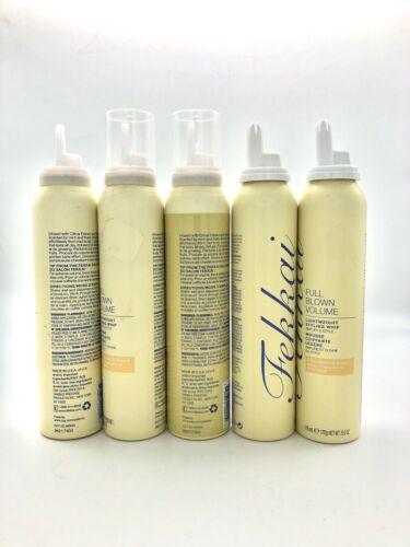 Buy 5 Fekkai Full Blown Volume Hair Styling Mousse Foam Discontinued 6oz Each