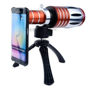 Buy 50X Zoom Telescope Cell Phone  Camera Lens+Tripod Case For Samsung Galaxy S9+