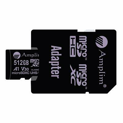 Buy 512GB 100MB s Pro Micro SD Card Plus SD Adapter Pack. Amplim 512 GB MicroSDXC