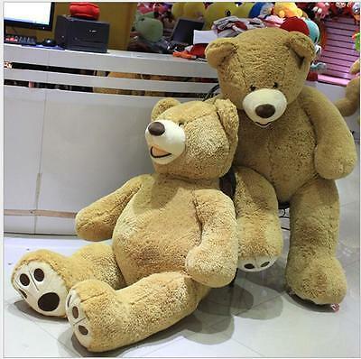 Buy 52'' Giant Teddy Bear Plush Toys Cotton Soft Stuffed Doll Birthday Huge Gift
