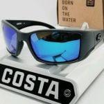 Buy 580G - COSTA DEL MAR matte gray/blue mirror BLACKFIN POLARIZED sunglasses! NEW!