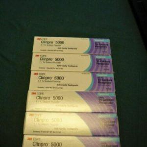 Buy 6 X 3M ESPE Clinpro Cream Toothpaste 4oz  - Spearmint - EXP 8/22. Free Shipping