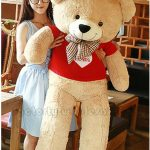 Buy 63'' Big USA Teddy Bear Plush Toys Giant Soft Stuffed Animal Doll Valentine Gift