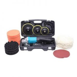 """Buy 7 """" Variable Speed Polishing Machine 1600W [Actual 1000W] Accessories Set"""