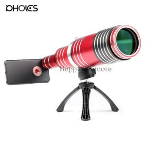 Buy 80x Super Zoom Telescope Camera Lens Tripod Case For iPhone XS 8 Plus 7 Plus 6s