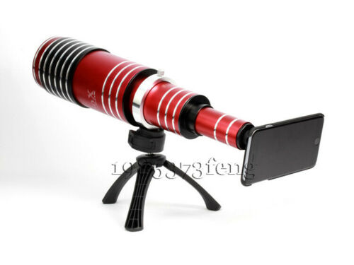 Buy 80x Super Zoom Telescope Phone Camera Lens Tripod Case For iPhone XS 8 Plus 7 6s